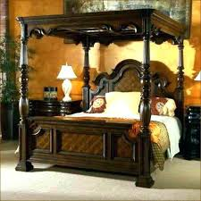 Canopy For King Bed Awesome King Size Canopy Bed Frame With Ideas ...