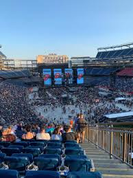 Gillette Stadium Section 201 Row 26 Seat 1 The Rolling