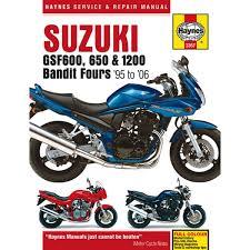 manual haynes for 1998 suzuki gsf 1200 sw bandit half faired sacs image is loading manual haynes for 1998 suzuki gsf 1200 sw