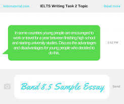 academic ielts writing task topic band advantage  com ielts writing task 2 topic