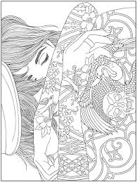 Small Picture 1401 best Coloring Books Dover images on Pinterest Coloring