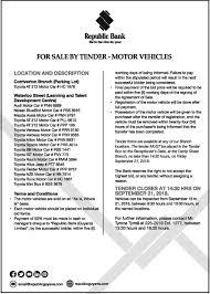 Vehicles For Sale Republic Bank