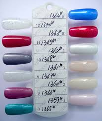 Gelish Nail Polish Color Chart Best Nail 2017