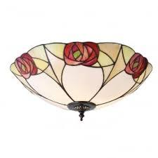 tiffany flush ceiling lights uk. ingram tiffany art nouveau flush light for low ceilings ceiling lights uk t