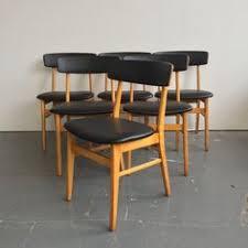 set of 6 vine mid century danish modern dining chairs 965 obo free nyc