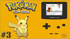 Pokémon Yellow Walkthrough #3 Meeting Bill and Gym Leader Misty - YouTube
