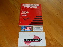 TECUMSEH :: Tecumseh engine 8-18HP cast iron engine service manual ...