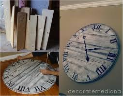 diy giant pottery barn wall clock diyfunideas