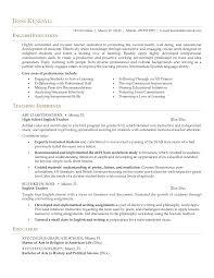 Esl Teacher Resume Example Sample Classy Sample Educator Resume Templates for Your 60 [ Esl Teacher 32