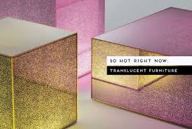 Image Contemporary Translucent Furniture Curated By Yellowtrace Yellowtrace So Hot Right Now Translucent Glass Furniture Yellowtrace