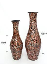 floor vases tall with branches glass at walmart