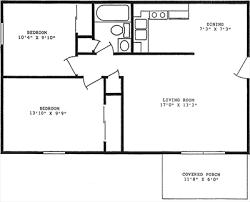 small floor plans. Small House 2 Bedroom Floor Plans I