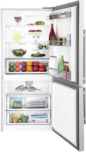 refrigerator no freezer. blomberg brfb1812ssn - dual evaporator design prevents flavor share between refrigerator and freezer compartments. no i