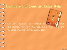 comparison essay samples contrast comparison essay samples