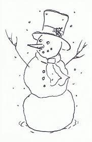 black and white snowman border.  And On Black And White Snowman Border