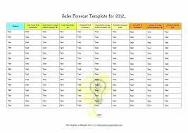 Sales Projection Format In Excel Sohbetciyiz Club