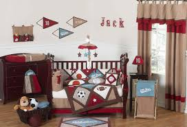 boy sports baby crib bedding