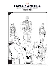 The Winter Soldier Coloring Pages Free Printable The Winter Soldier