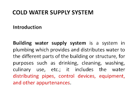 Domestic Water Pipe Sizing Chart Cold Water Supply And Pipe Sizing