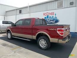 2013 Ford Truck Color Chart 2013 F150 Red Tan Black Wheels 2013 Ruby Red Metallic Ford