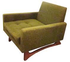 adrian pearsall mid century modern club chair  modernism