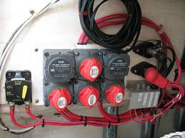 bep marine cluster 717 140a dvsr the hull truth boating and i installed two posts one for all grounds and one for house power distribution large gauge wire feeding the house post and then from there