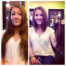 Hair Style Before And After before and after long hair to long bob haircut and style by 3199 by wearticles.com