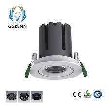 China Aluminum Led Lamp Round Recessed Ceiling Low Power Led Light