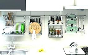 wall mounted dish drainers kitchen drying rack