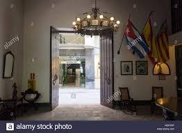Alt Havanna Paella Valenciana Restaurant Mit Einer Antik