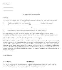 Formal Letter Format Bank Plks Tk
