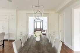 reclaimed wood dining table with light gray chairs light wood dining set t34
