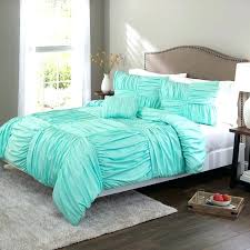 light pink ruched comforter duvet cover aqua basket weave set grey ruche