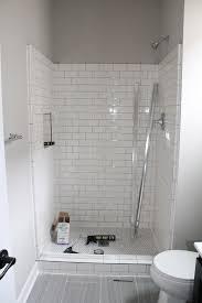 simple shower design. Bathroom:Amazing White Subway Tile Bathroom Shower Cool Home Design Classy Simple At Interior