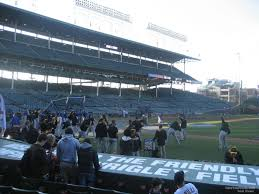 Wrigley Field Covered Seating Chart Chicago Cubs Seating Guide Wrigley Field Rateyourseats Com