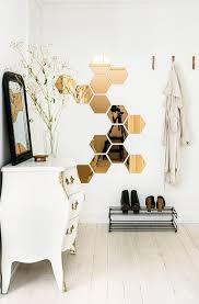 ikea furniture diy. Hexagon Ikea Mirrors Make For Interesting Wall Decor. Furniture Diy
