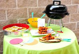 bbq themed party summer grilling party decorations supplies ideas idea  planning bbq party ideas for adults