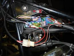 rewired a softail using a thunder heart harness v twin forum one ground for the voes switch one for the tach and one for the thunder heart module