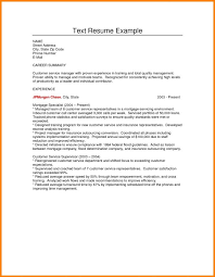 Plain Text Resume Sample Sample Plain Text Resume Best Of Fitted Meanwhile Example