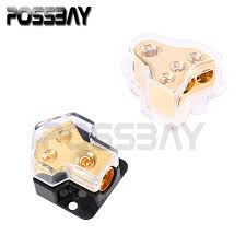 online buy whole distributor from distributor 1pcs universal car power distributor block plastic copper fuse holder fuse box 3 style for choose