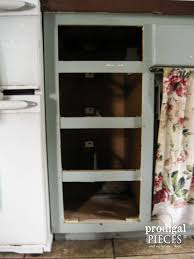 Kitchen Drawer Faux Crate Drawers Farmhouse Kitchen Update Prodigal Pieces