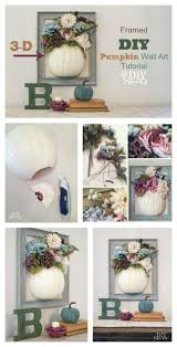 see more michaels makers diy pumpkin crafts from these talented blog friends starting today at 10 a m cst  on diy wall art michaels with framed 3 dimensional diy pumpkin wall artdiy show off diy