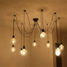 image of rustic ceiling lights bulb