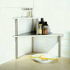 cook n home tier stainless steel counter storage shelfanizer rectangle kitchen dining vwn srwl sl