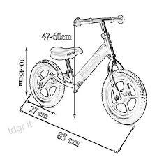 Bicicletta Yxx No Pedale Sport Per 2 6 Anni Bambini Balance Bike