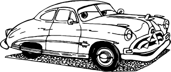 Old Cars Coloring Page | Wecoloringpage