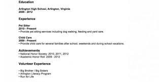 Amazing Dog Sitter Resume Sample Ideas Entry Level Resume