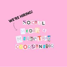 we re hiring social media marketing coordinator studio diy we re hiring social media marketing coordinator