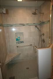 chelsea michigan master bathroom remodel dreammaker freestanding tub shower double vanity showplace cabinetry quartz countertop glazzio