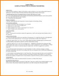 Self Introduction Business Letter Example How To Write A